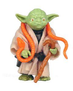 Vintage Loose ESB Yoda (Orange Snake) C-9