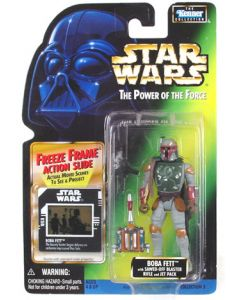 POTF2 Freeze Frame Card Boba Fett C-9
