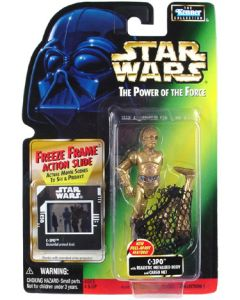 Power of the Force 2 Freeze Frame Card C-3PO