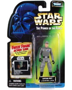 Power of the Force 2 Freeze Frame Card Captain Piett