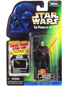 POTF2 Freeze Frame Carded Darth Vader (removable helmet)