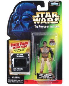 POTF2 Freeze Frame Carded Lando Calrissian (Skiff Guard)