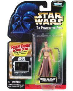 POTF2 Freeze Frame Princess Leia (Jabba's prisoner)