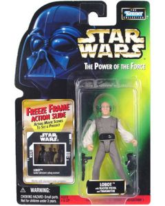 Power of the Force 2 Freeze Frame Card Lobot