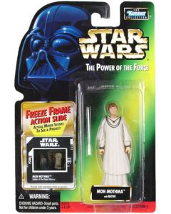 Power of the Force 2 Freeze Frame Card Mon Mothma