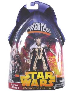 Revenge of the Sith Sneak Preview Carded General Grievous