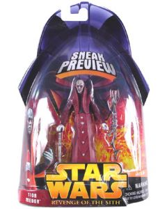 Revenge of the Sith Sneak Preview Carded Tion Medon