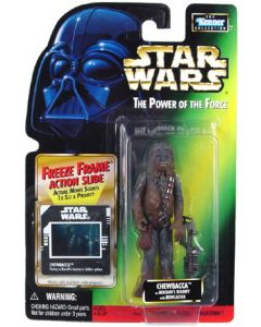 Power of the Force 2 Freeze Frame Card Chewbacca (Boushh's bounty)