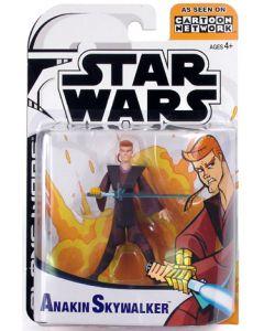 Clone Wars Carded Animated Anakin Skywalker C-9
