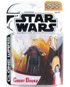 Clone Wars Carded Animated Count Dooku C-9