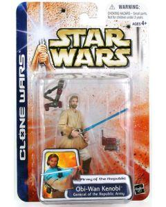 Clone Wars Carded Obi-Wan Kenobi