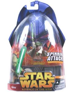 Revenge of the Sith Carded Yoda (Spinning Attack)