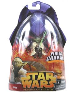 Revenge of the Sith Carded Yoda (Firing Cannon)