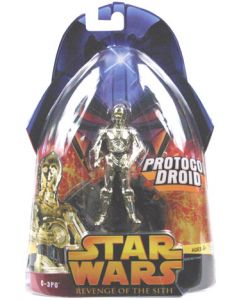 Revenge of the Sith Carded C-3PO (Protocol Droid)