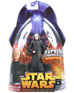 Revenge of the Sith Carded Chancellor Palpatine (Supreme Chancellor)