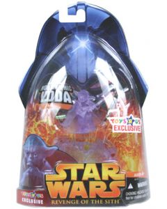 Revenge of the Sith Exclusive Yoda (Holographic) C-8/9 (bubble will have some scuffing)