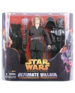 "Revenge of the Sith 12"""" Boxed Anakin Sywalker (Ultimate Villain)"