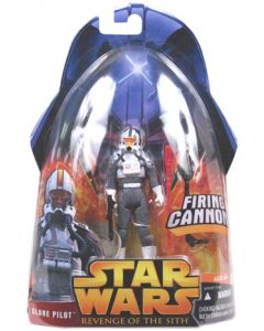 Revenge of the Sith Carded Clone Pilot (Gray)