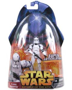Revenge of the Sith Carded Clone Trooper (Super Articulation)