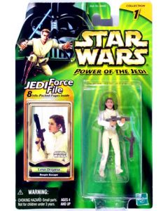 """POTJ 3 3/4"""" Carded Leia Organa (Bespin Escape)"""
