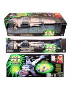 POTJ Vehicle Boxed B-Wing Fighter with Sullustan Pilot C-8/9