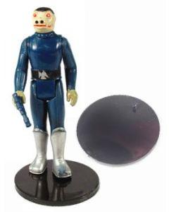 Action Figure Stands for Vintage Star Wars loose figures - Black