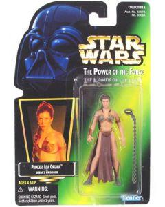 POTF2 Green Card Princess Leia Organa (Jabba's Prisoner)