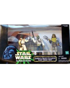 Power of the Force 2 Jabba's Skiff Guards Multi-Figure Pack