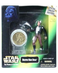 Power of the Force 2 Millennium Minted Coin Han Bespin