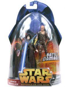 Revenge of the Sith Carded Anakin Skywalker (Battle Damage)