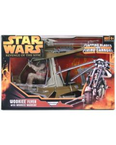 Revenge of the Sith Vehicle Boxed Wookiee Flyer with Wookiee Warrior