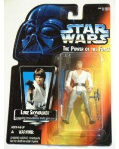 POTF2 Red Card Luke Skywalker (short saber in long tray)