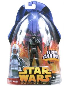 Revenge of the Sith Carded Clone Pilot (Black) C-9