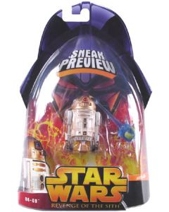 Revenge of the Sith Sneak Preview Carded R4-G9