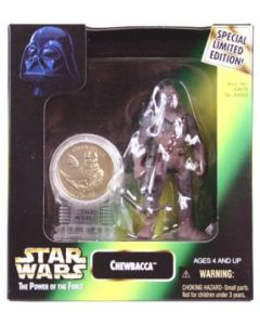 Power of the Force 2 Millennium Minted Coin Chewbacca