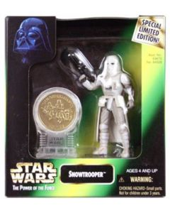 Power of the Force 2 Millennium Minted Coin Snowtrooper