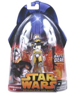 Revenge of the Sith Carded Commander Bly (Battle Gear) C-9