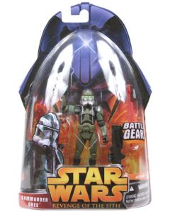 Revenge of the Sith Carded Commander Gree (Battle Gear)