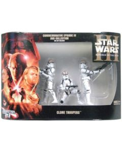 ROTS Exclusive Commemorative Episode III DVD Collection Clone Troopers C-9
