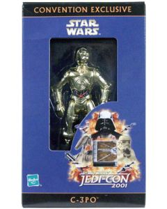 Power of the Force 2 Variations C-3PO Jedi-Con 2001 (German exclusive)