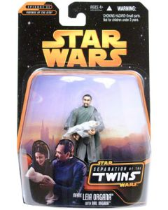 Revenge of the Sith Exclusive Separation of the Twins Infant Leia Organa with Bail Organa C-9