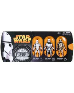 Revenge of the Sith Evolutions Boxed Clone Trooper To Stormtrooper (2nd Version) C-9