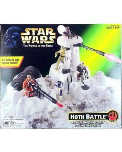 Power of the Force 2 Hoth Battle Playset