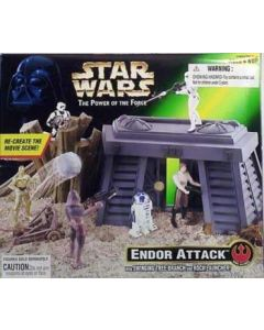Power of the Force 2 Playset Endor Attack