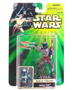 Attack of the Clones Sneak Preview Jango Fett