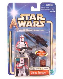 Saga Collection Carded Clone Trooper (Red)