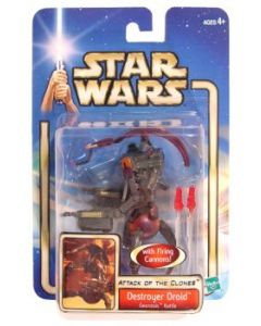 Attack of the Clones Carded Destroyer Droid