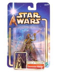 Attack of the Clones Carded Geonosian Warrior