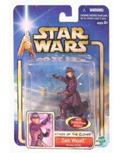 Attack of the Clones Carded Zam Wesell