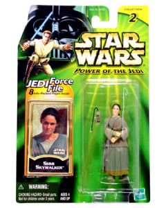 "Power of the Jedi 3 3/4"" carded Shmi Skywalker"